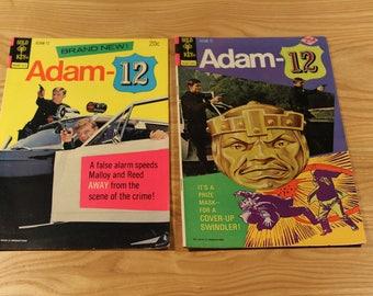Vintage - Gold Key Comics - Adam 12