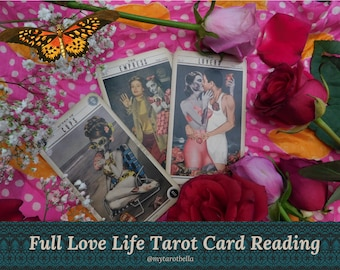 LOVE LIFE ANALYSIS, with Cosmopolitan's tarot columnist, delivered via email/pdf