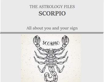 SCORPIO TAROSCOPE READING- by Cosmopolitan's tarot expert, via email/pdf