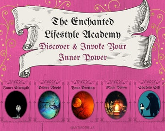 DISCOVER YOUR POWER - 4 week course via email at The Enchanted Lifestyle Academy, with Cosmopolitan's resident tarot columnist