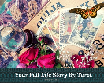 LIFE STORY TAROT reading with Cosmopolitan's tarot columnist (the story of your life, past present & future) via email/pdf