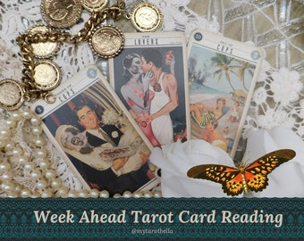 THE WEEK AHEAD reading- get ahead in just 7 days, with Cosmopolitan's tarot columnist, via email/pdf