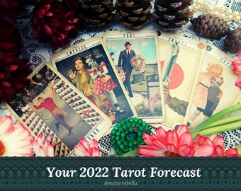2022 TAROT FORECAST, with Cosmopolitan's tarot columnist, delivered via email / PDF