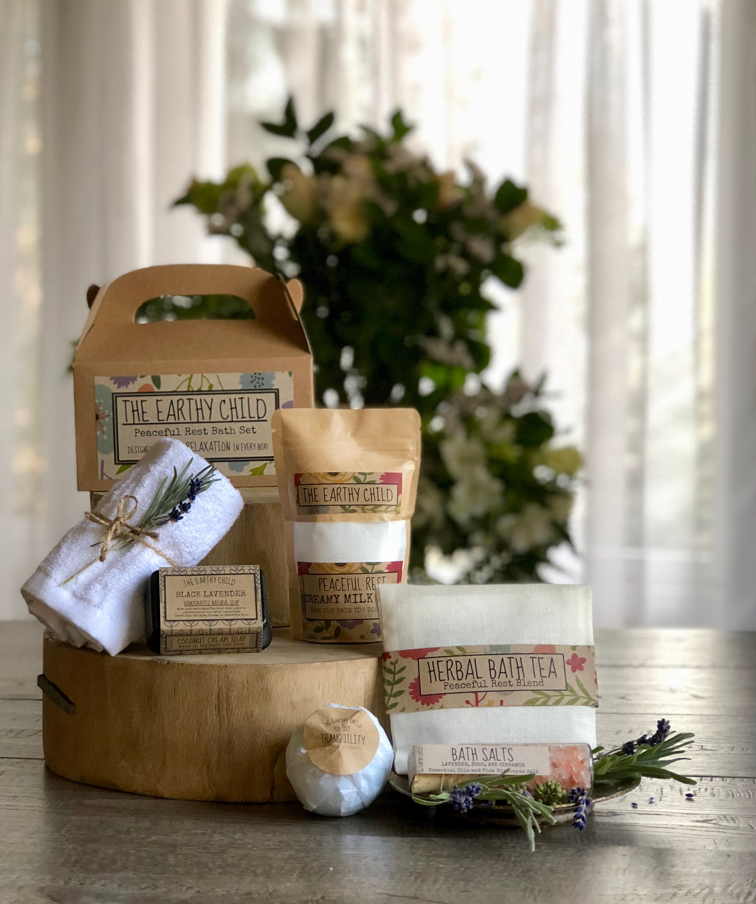 Mothers Day Spa Gift Set For Her Vegan Bath