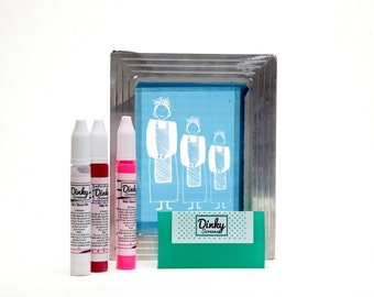 Create Your Own Dinky Screen printing Kit