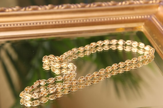 Vintage 14k Yellow Gold Turkish Rope Chain Unisex Gold Chain Etsy
