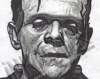 Boris Karloff The Monster