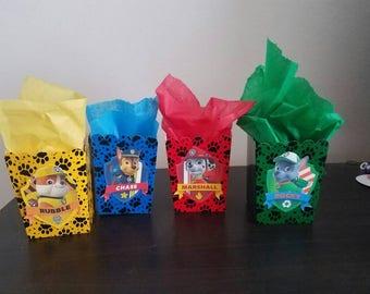 Paw Patrol Snack Boxes