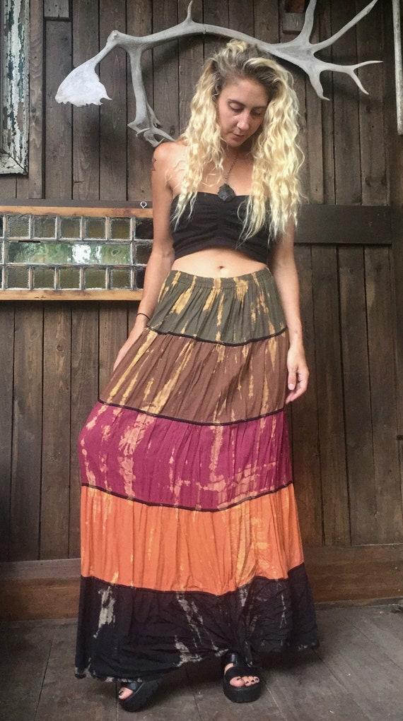 Maxi Skirt || Hippie Maxi Skirt || Thai Maxi Skirt