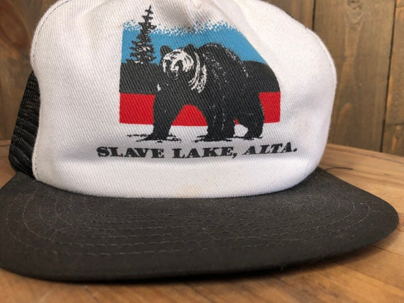 Wildlife Snapback    Trucker Hat    Slave Lake Al… - image 2