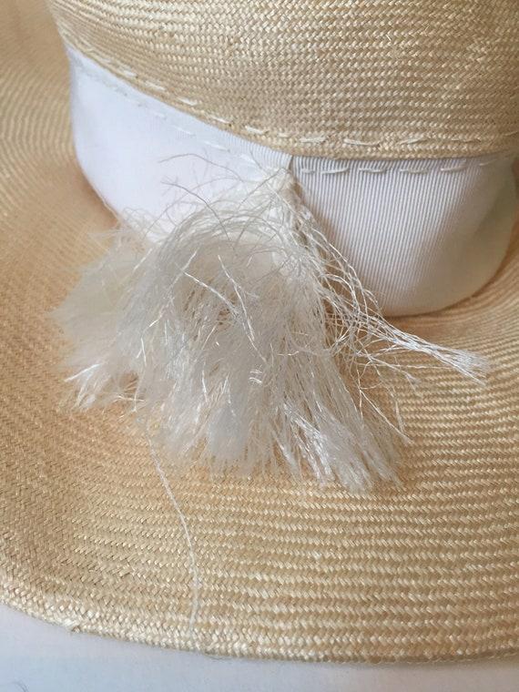 Wide Brim Hat || Wavy Brim Hat || Summer Wide Bri… - image 8