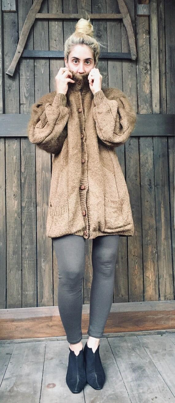 Mohair Sweater || Oversized Mohair Cardigan || Moh
