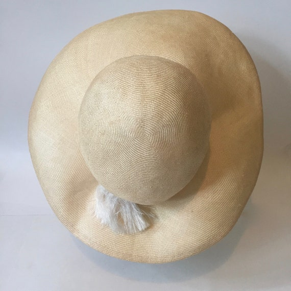Wide Brim Hat || Wavy Brim Hat || Summer Wide Bri… - image 4