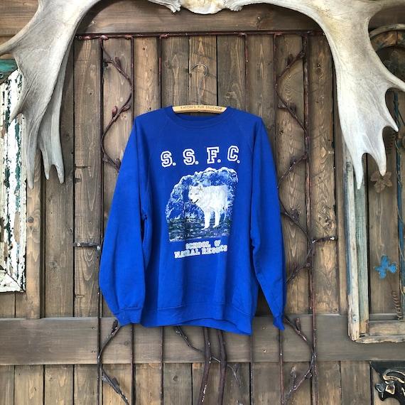 Wolf Sweatshirt || Nature Sweater || Pullover Swea