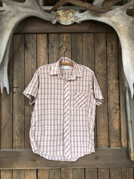 Plaid Short Sleeve || Summer Plaid Shirt || Thin P