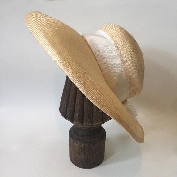Wide Brim Hat || Wavy Brim Hat || Summer Wide Bri… - image 2
