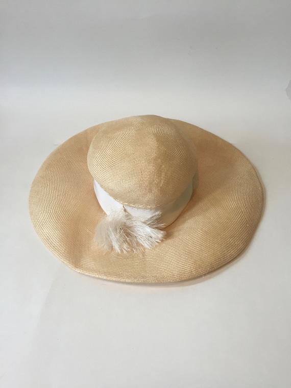 Wide Brim Hat || Wavy Brim Hat || Summer Wide Brim