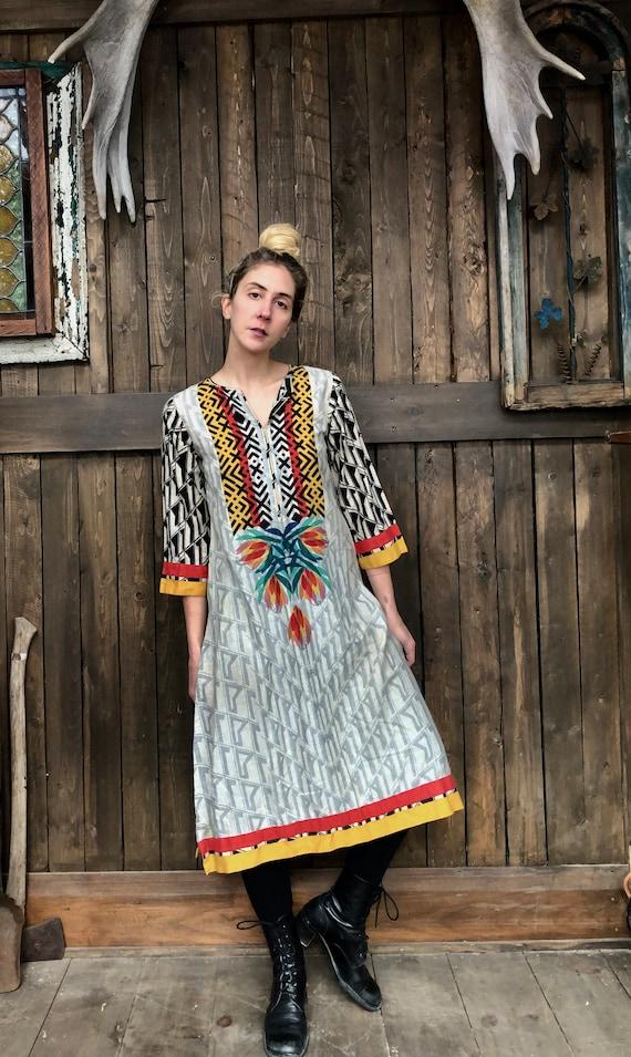 Indian Kurti Dress || Indian Tunic Dress || Psyche