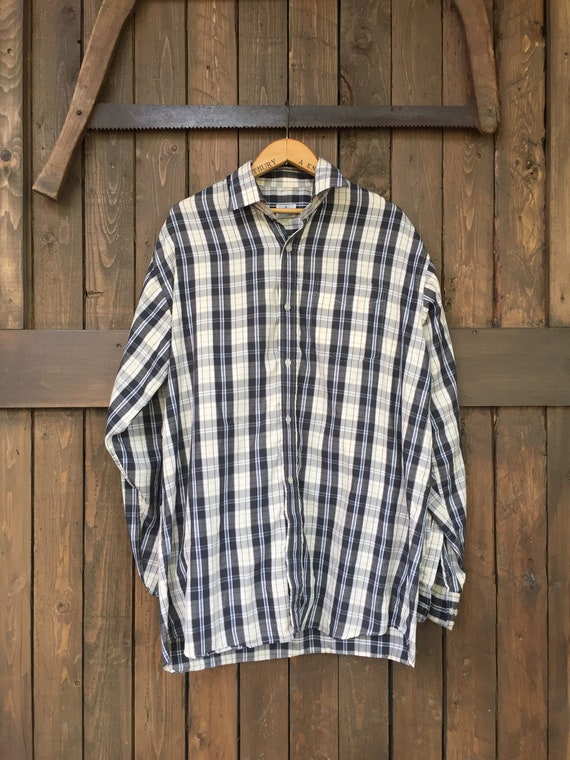 Plaid Long Sleeve || Plaid Button Down || Light Pl