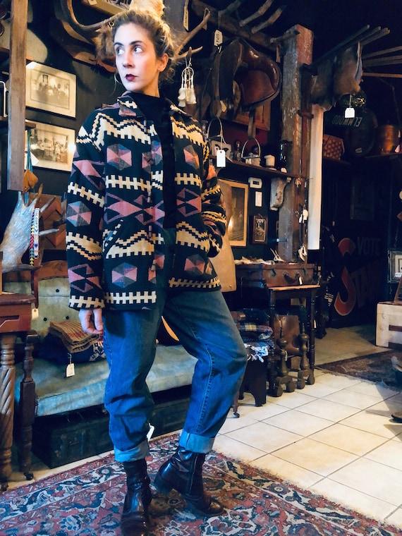 Patterned Winter Jacket || Bomber Jacket || Boho W