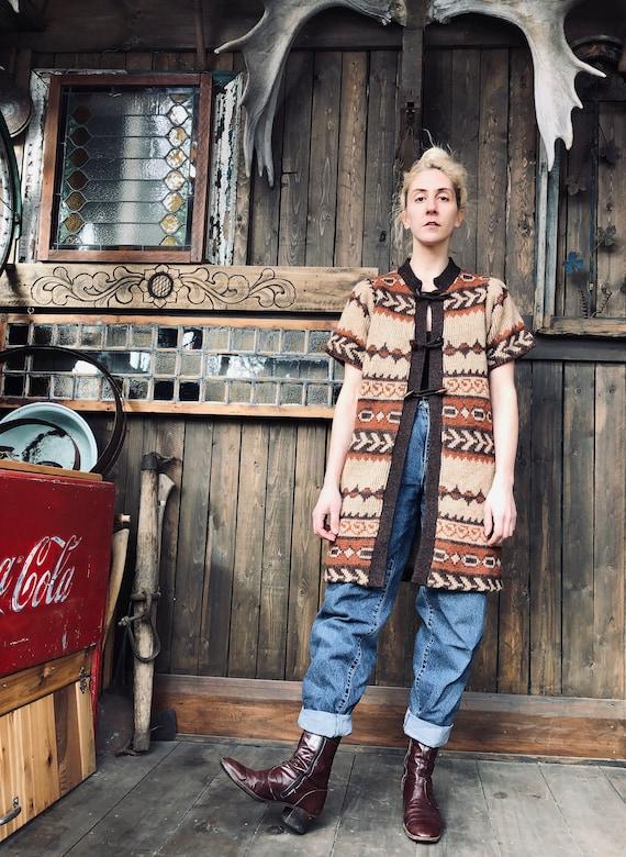 Cowichan Sweater  || Cowichan Vest || Knit Cover U