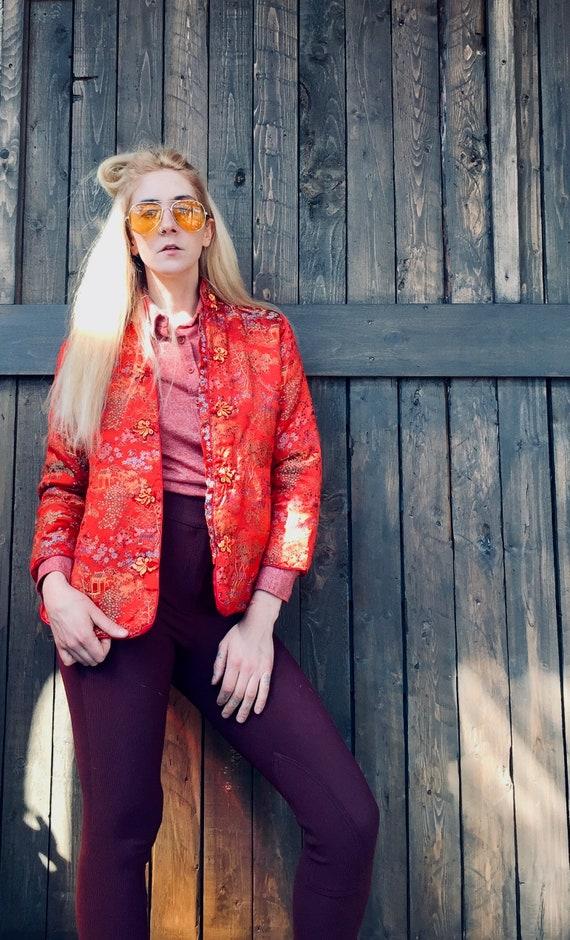 Satin Quilted Jacket || Chinese Jacket || Satin Ja