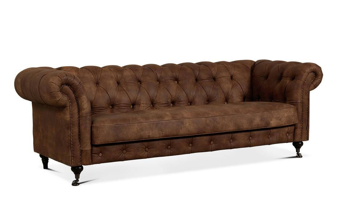 Luxury Churchill 2 5 3 Seater Chesterfield Style Sofa Bed Etsy