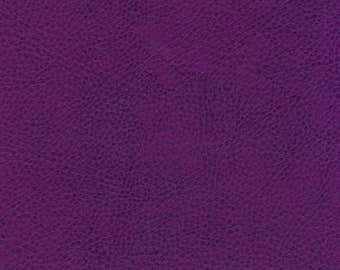 Italian Beautiful Full Leather Cow Hide Colour Purple