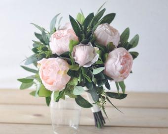 Peony Bridal Bouquet Etsy
