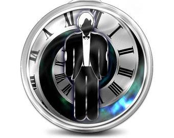 Doctor Who Key Fob/ Bag Charm/ Key Ring /Luggage tag