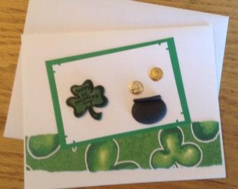 Happy St. Patrick's Day Handmade Card
