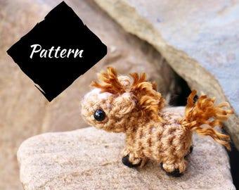 Amigurumi Mini Horse Pattern - Crochet horse pattern - mini horse pattern crochet - horse crochet pattern - amigurumi horse pattern - horse