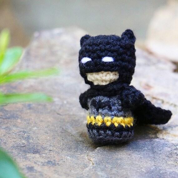 Digital Crochet Pattern ***** Batman 6-7