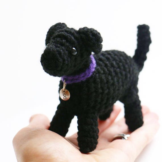 Sadie The Black Lab Black Labrador Retriever Plush Black Etsy