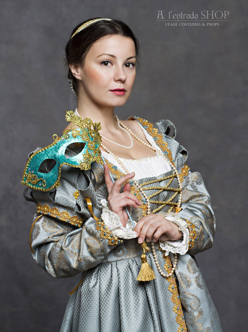 Renaissance dress early 16th century  Historical dress Italian fashion  Lucrezia Borgia style  !!!ONLY TO ORDER!!! Different colors