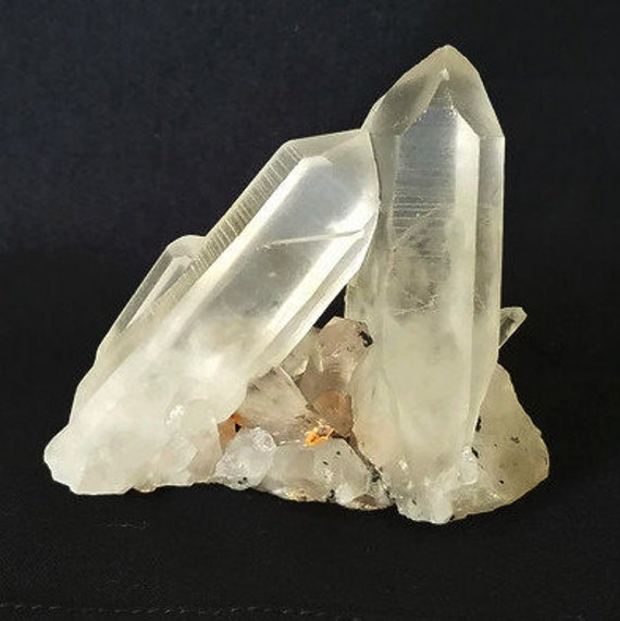 Lemurian Cluster with Channeling Crystal 108 gm.