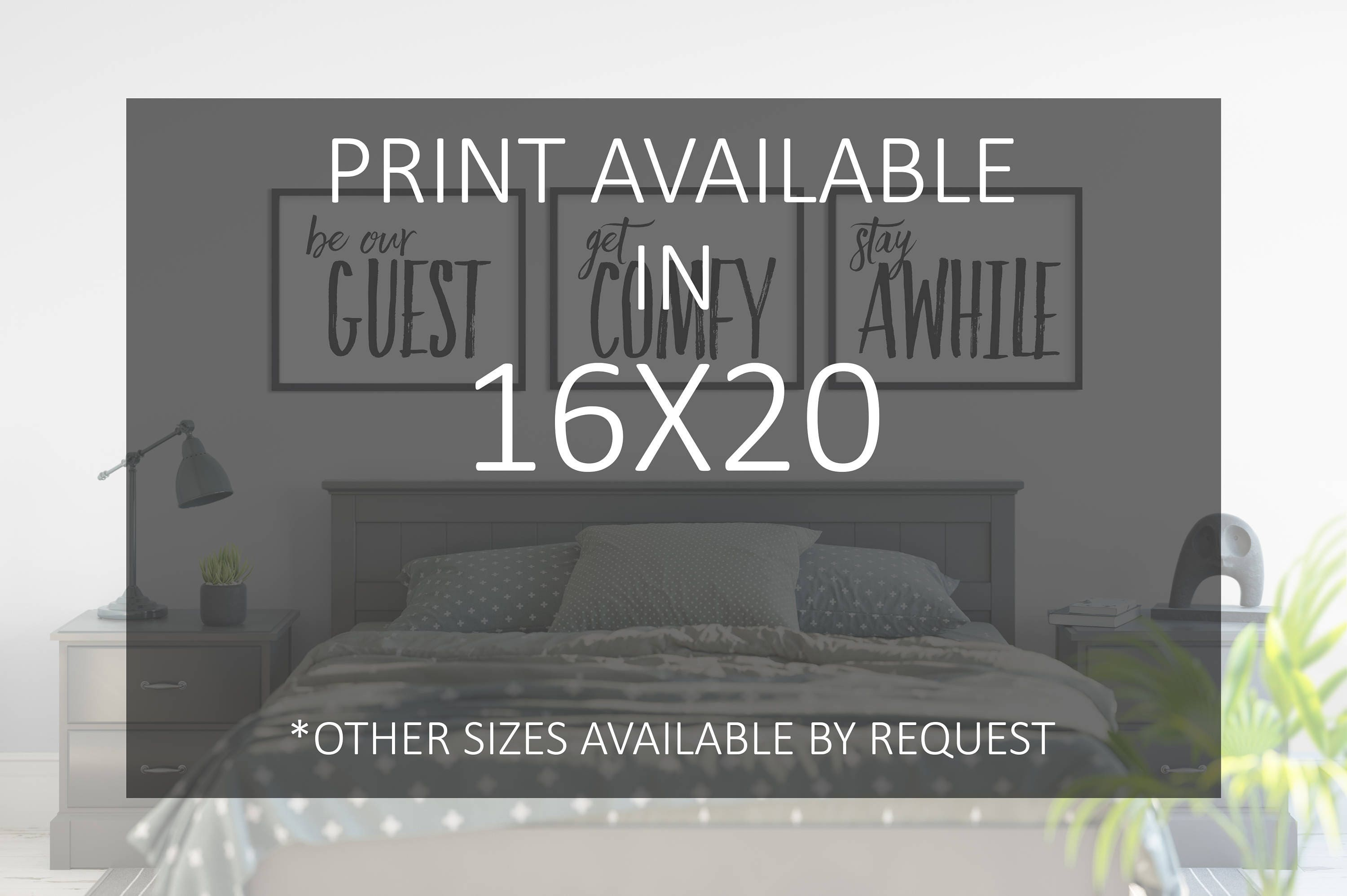 photograph relating to Be Our Guest Printable called Residence Decor 16x20 - Wall Decor - Be Our Visitor - Purchase At ease