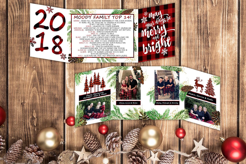 Christmas Card - Photo Christmas Card - Merry and Bright Christmas ...
