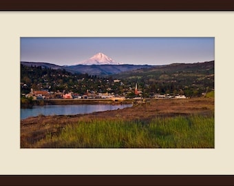 First light on The Dalles