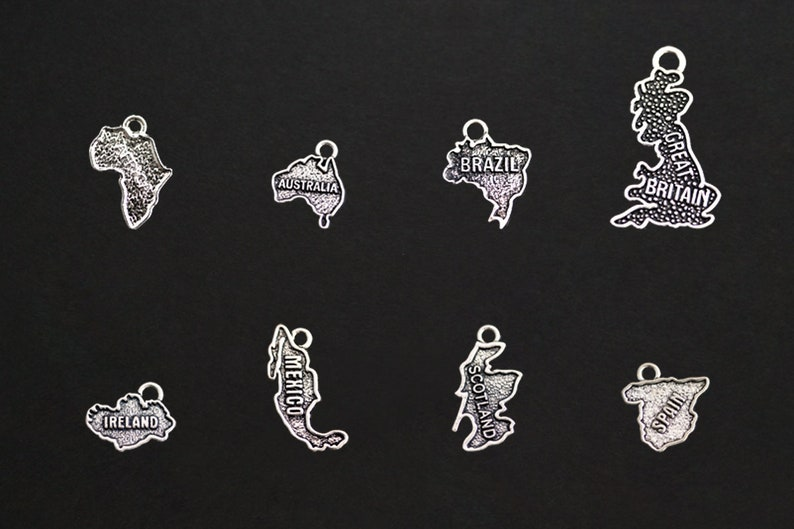 Country Charms. International Charms. Add-On Charm for image 0