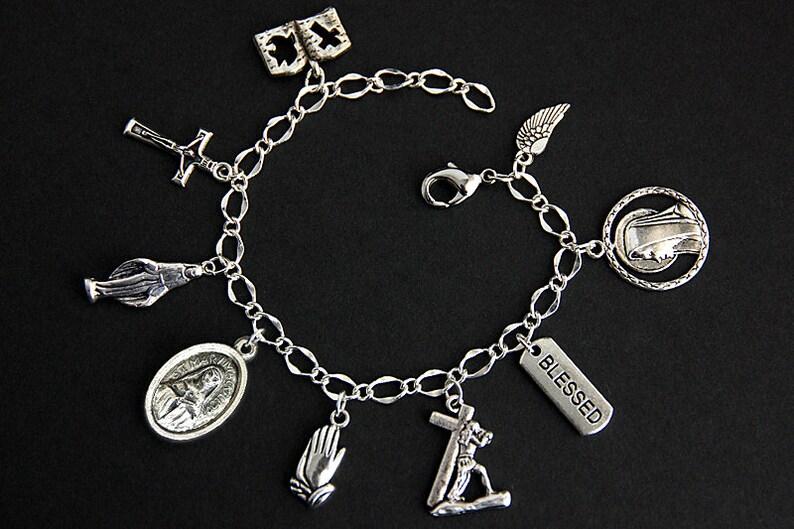 Saint Mary MacKillop Bracelet. Christian Bracelet. Catholic image 0