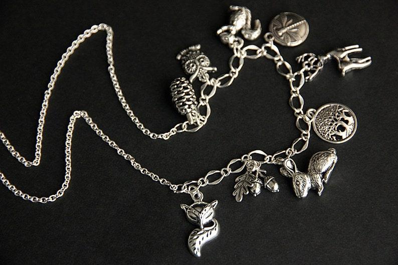 Bracelet to Necklace Upgrade. Charm Necklace Upgrade. image 0