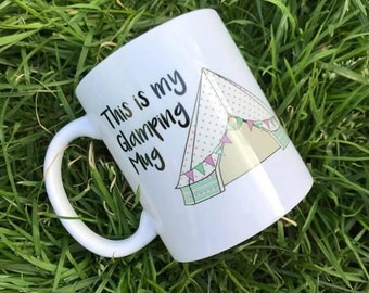 glamping mug tent camping