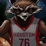 Houston Rocket | Houston Rockets & Rocket Raccoon/ Guardians of the Galaxy mashup