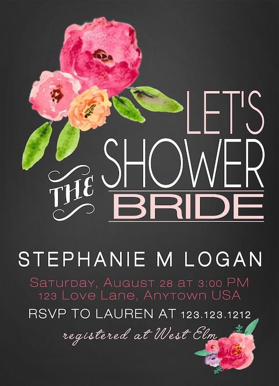 7bf30ce1f597 Bohemian Bridal Shower Invitations Boho Chic Bridal Rustic