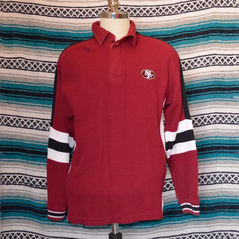 be037a15feb Vintage San Francisco 49ers Polo Long Sleeve Starter NFL Pro