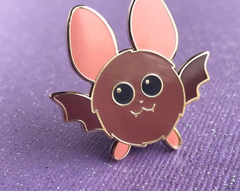 Flying Bat Pin