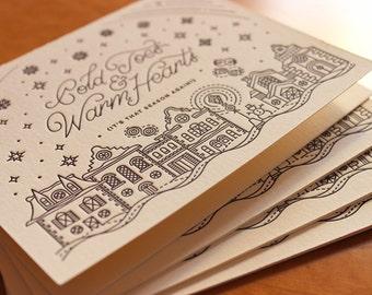 Cold Toes & Warm Hearts Holiday Card
