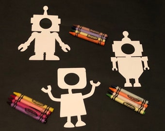 Kids Robot Party Etsy