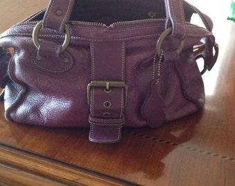 Vintage Roots Purple Berry Handbag